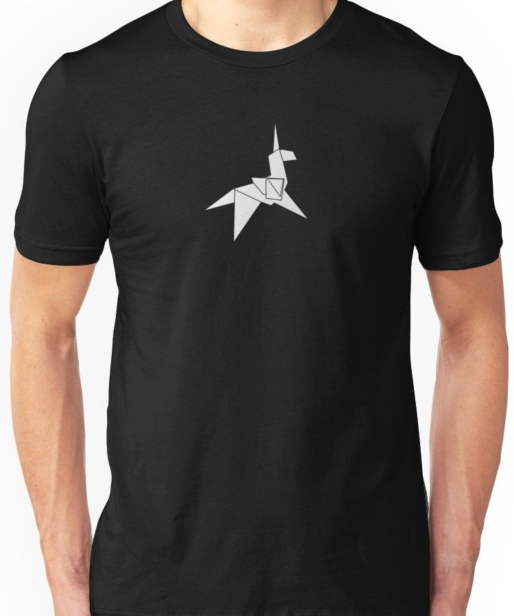 Photo of 'Origami Unicorn' Essential T-Shirt by buud