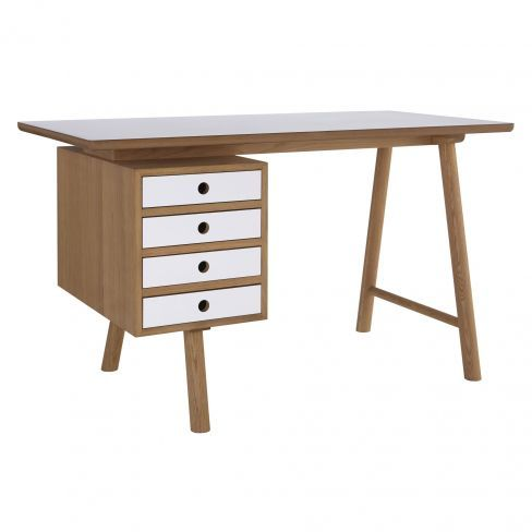 Marvelous The Scandi Themed Desk Features Four Drawers With White Fronts For Striking  Visual Appeal And. Desks OnlineSpare Bedroom IdeasHome ...