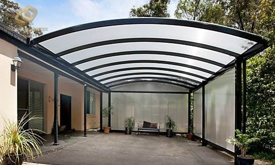 Best Pin By Creative Outdoors On Curved Roof In 2020 Covered 400 x 300