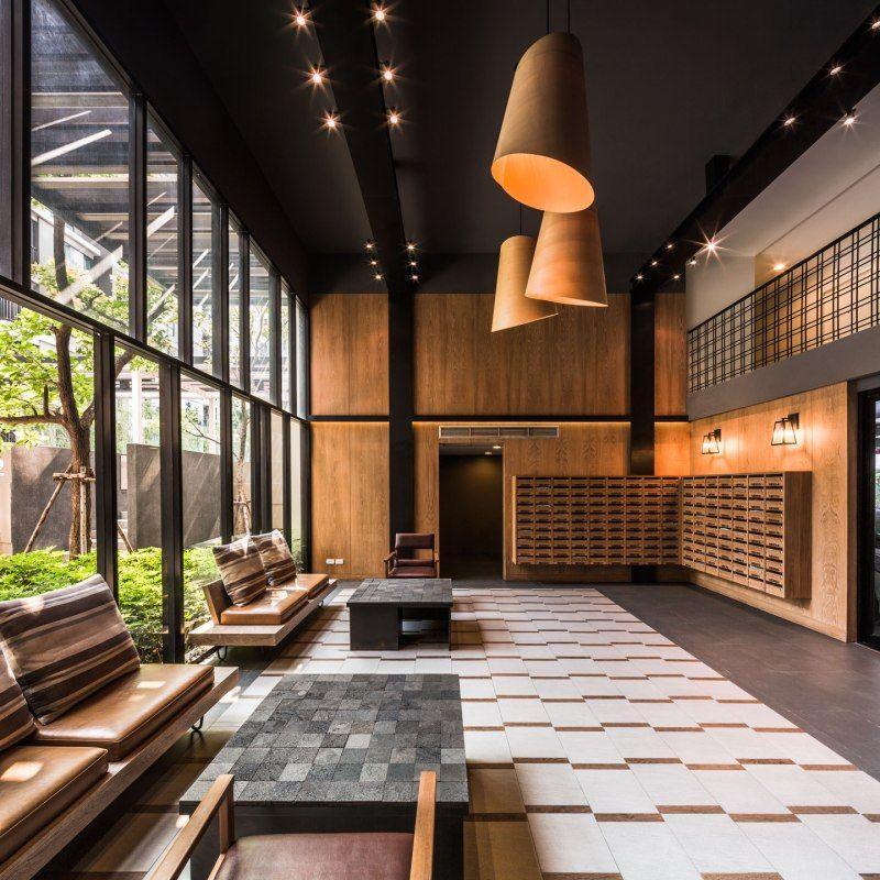 Lobby Interior Design: Premio Prime By Open Air Studio