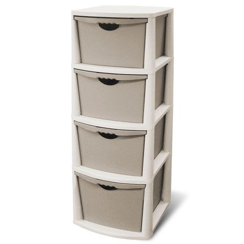 Utility Shelves Walmart Fair 4 Drawer Plastic Storage Chest Walmart  Drawer Storage Cabinet Inspiration