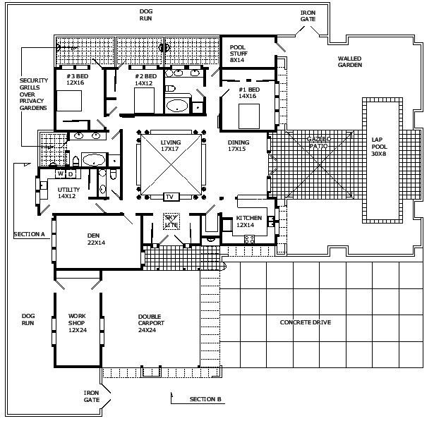 new home design floor plans