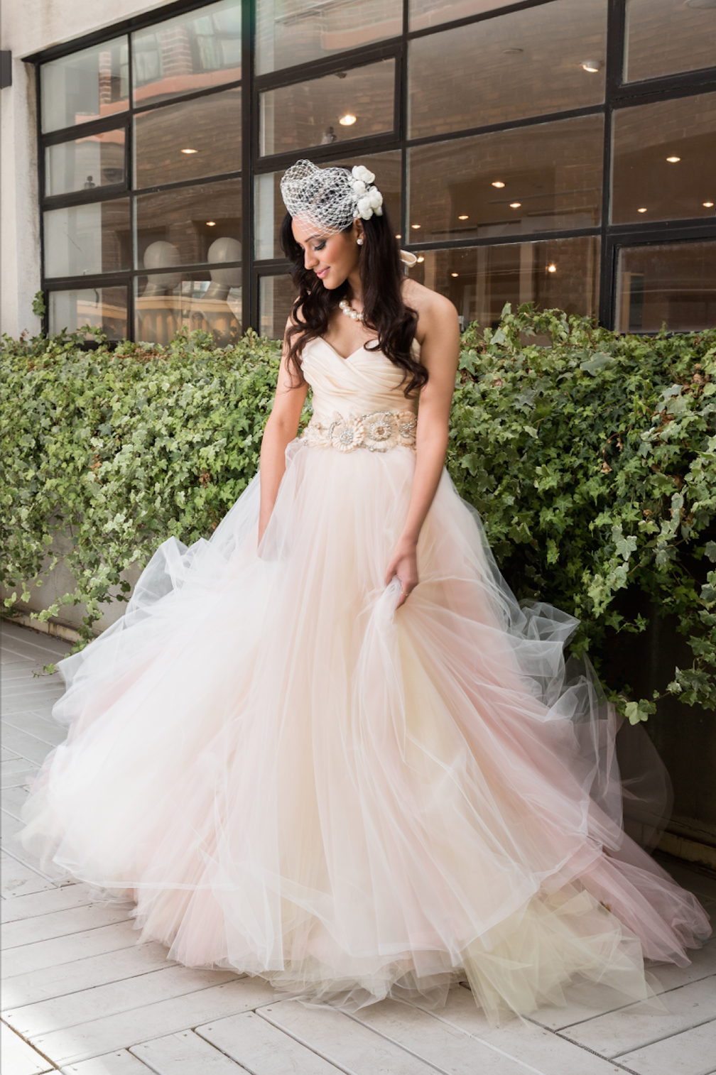 lazaro blush ball gown gowns to covet pinterest