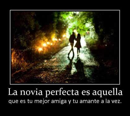 Fotos Con Frases La Novia Perfecta Imágenes Románticas