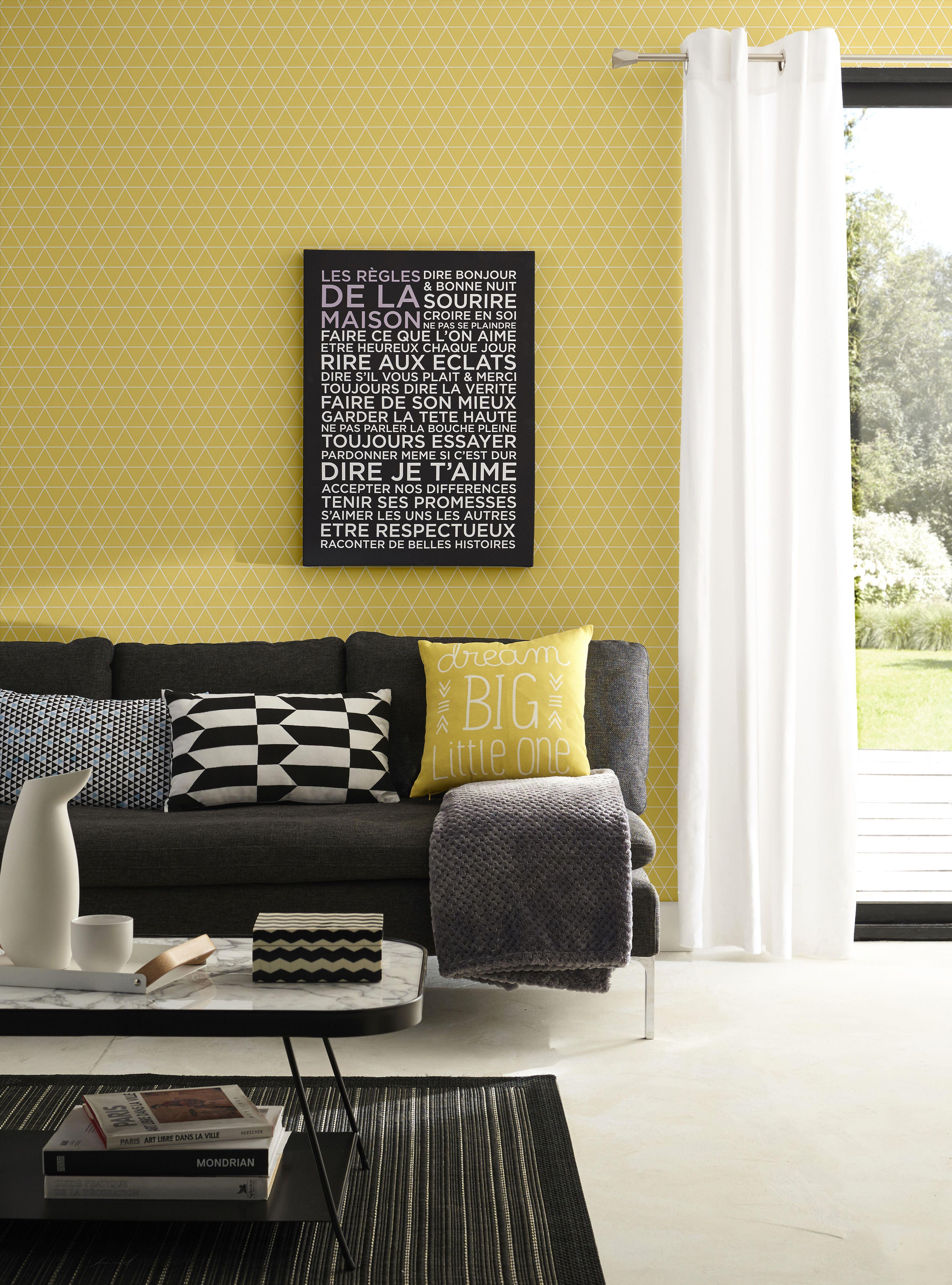 vintage et moderne la fois ce papier peint s 39 int grera parfaitement dans une d co l. Black Bedroom Furniture Sets. Home Design Ideas
