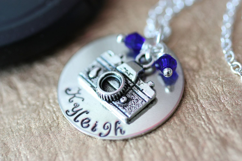 Photographer Camera Necklace. $15.98, via Etsy.