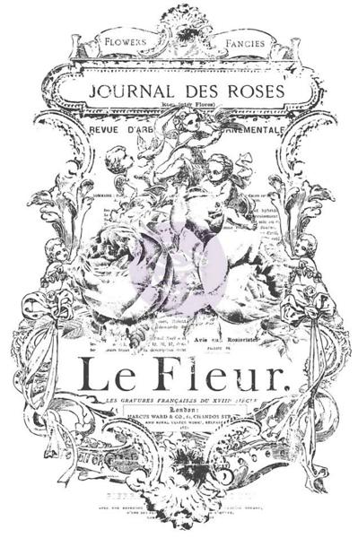 Iod Decor Rub-ons Fleur