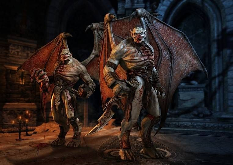 Hybrid Vampire Werewolf Skyrim Google Search Vampire Ansd