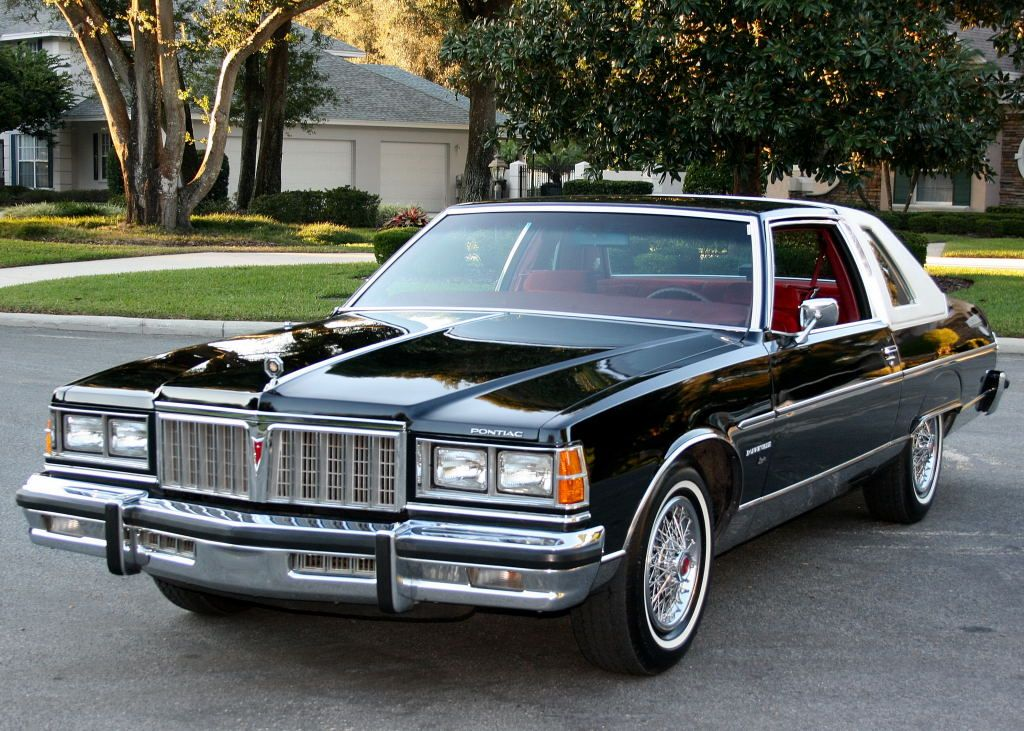 1978 pontiac bonneville coupe in starlight black with. Black Bedroom Furniture Sets. Home Design Ideas