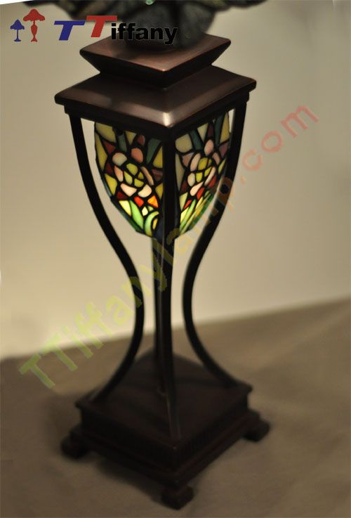 flower tiffany style lamp zm14001 tiffany figure lamp tiffany