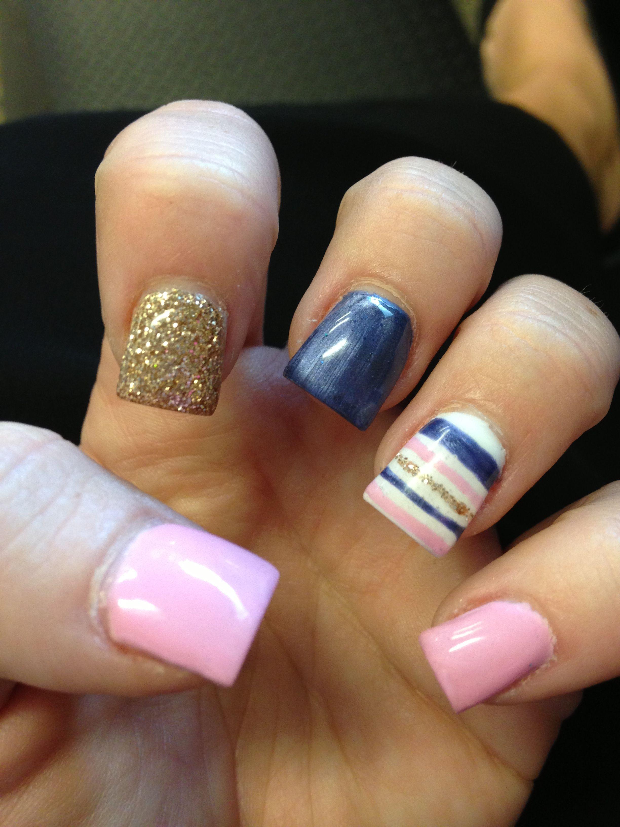 Fun summer gel nails! | Nails | Pinterest | Summer gel nails, Beauty ...