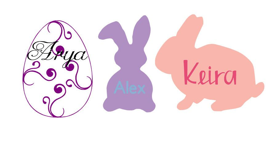 Easter vinyl decals personalized stickers decals for easter easter vinyl decals personalized stickers decals for easter baskets easter themed gifts negle Choice Image