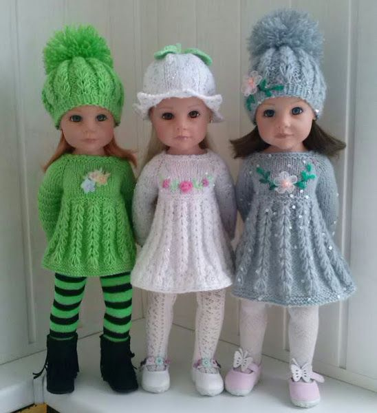 Картинка | AG Doll Clothes-Knit & Crochet | Pinterest | Muñecas ...