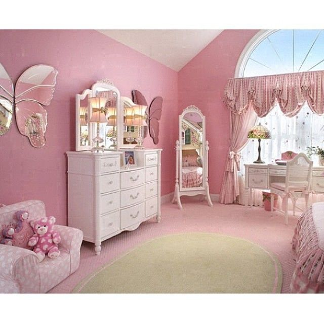 Instagram Photo By Pink Decoration Jan 22 2015 At 4 31pm Utc Girly Bedroom Colors Girly Bedroom Bedroom Color Schemes