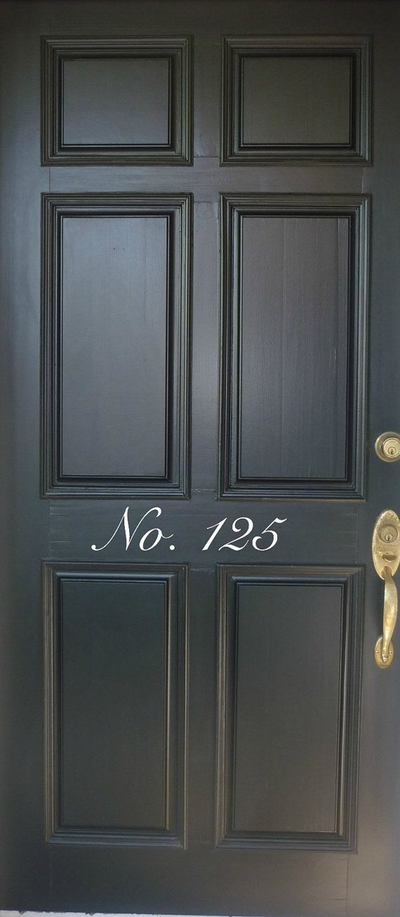 House numbers front door decal mailbox numbers decal vinyl decor address number front door decal entry door decal house numbers decal