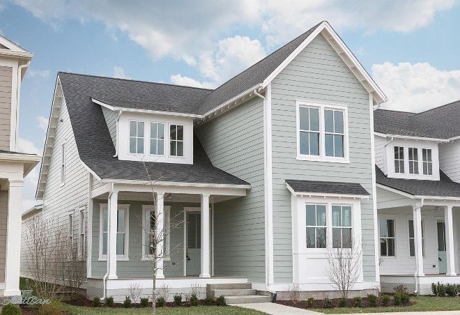 SW Oyster Bay Hardie board siding | Exterior Color Ideas ...