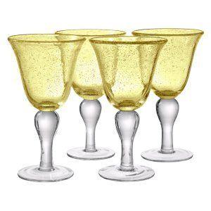 Artland Inc. Iris Plum Ice Tea Glasses - Set of 4 - Stemware at Hayneedle