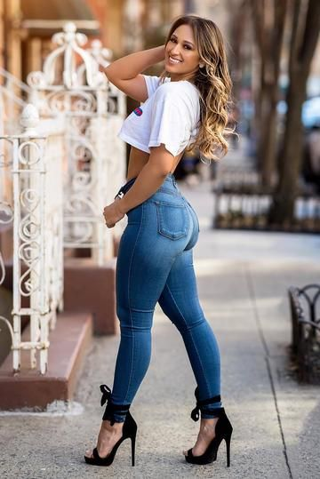 Luxe Glam High Waist Skinny Jeans - Dark
