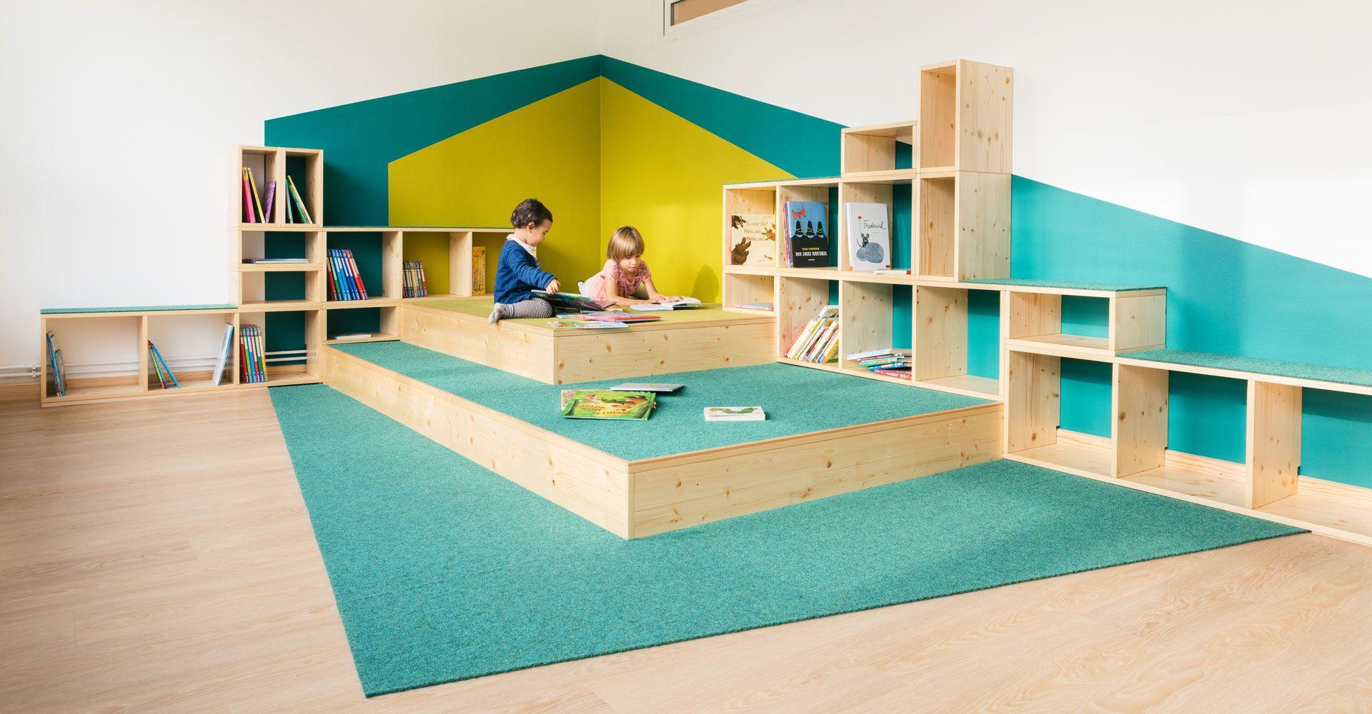 KITA SCHLAUE FÜCHSE Innenarchitektur schulen, Kinderhaus