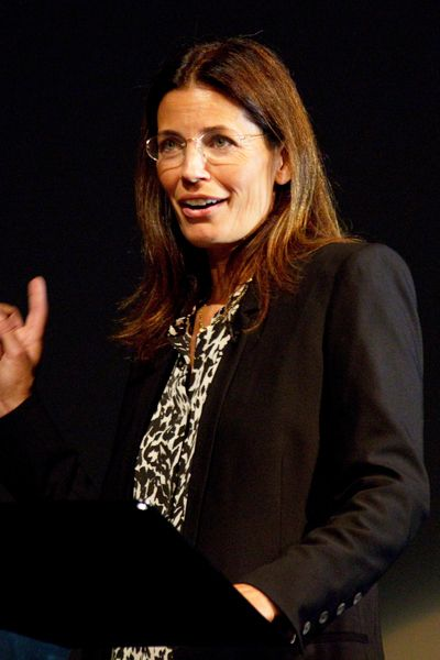 Susannah Grant delivering her lecture. Listen to it in full here: http://guru.bafta.org/susannah-grant-screenwriting-lecture