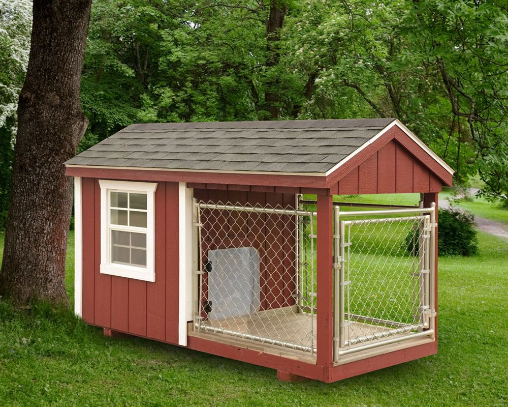 4x8 Dog Kennel Dog House Diy Insulated Dog House Dog House Plans