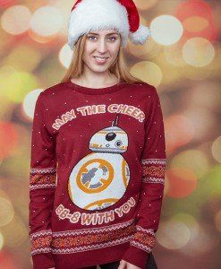 Star Wars BB-8 Knitted Unisex Christmas Sweater