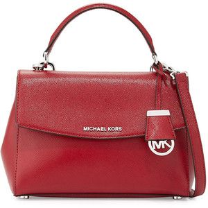 MICHAEL Michael Kors Ava Small Leather Satchel Bag