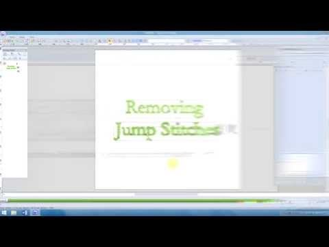Pe Design 10 Removing Jumps In Text Lesson 14 Youtube Pe