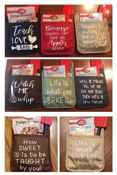 What A Great Idea Potholder Gift Sets Teacher Gifts Teacher Appreciation Gifts Appreciation Gifts