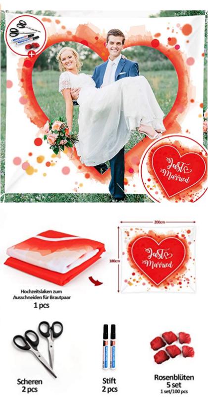 Absofine Hochzeitslaken In 2020 Hochzeitsspiele Herz Hochzeit Hochzeit Spiele