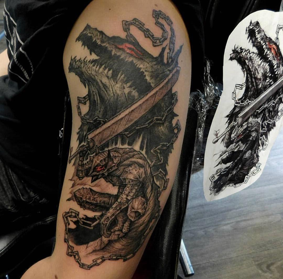 Resultado De Imagem Para Berserk Tattoo Imagems