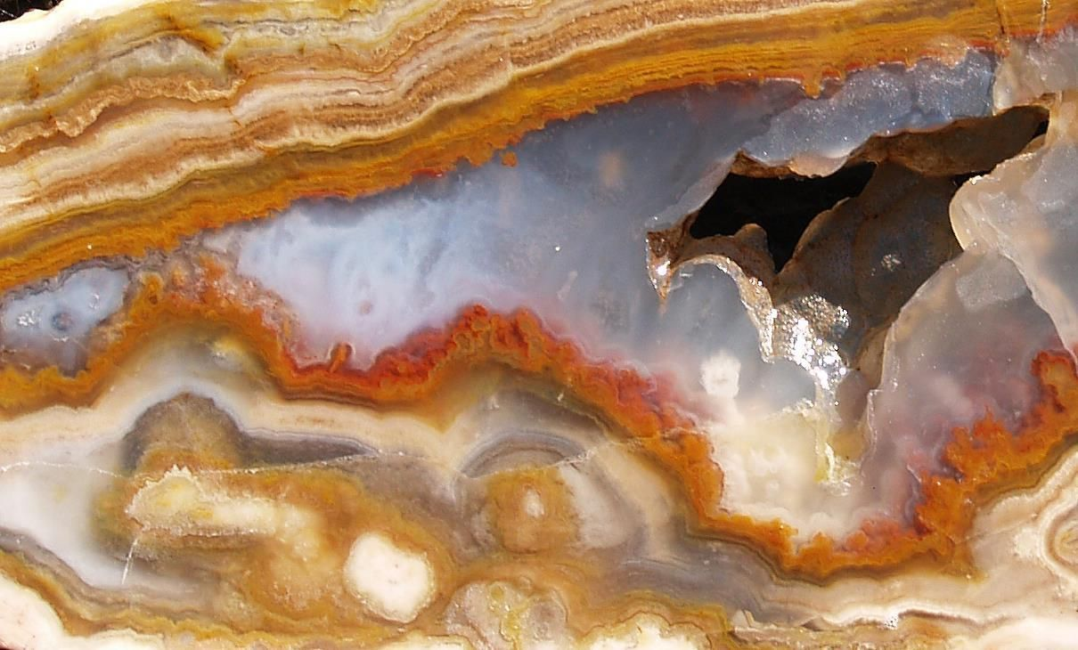 Rock slab LYSITE agate - gorgeous old stock!!!! in Collectibles, Rocks, Fossils & Minerals, Lapidary Materials, Rough for Cabbing   eBay