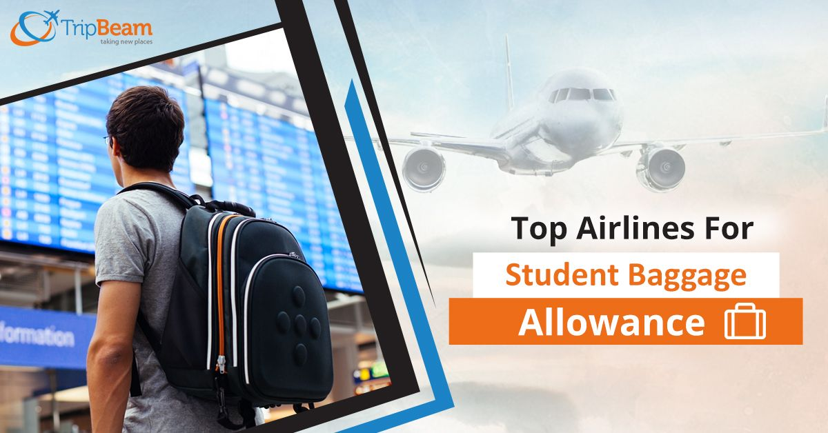 Best Airlines For Student Baggage Allowance!  Baggage allowance is an essential factor associated with air travel. To know whether your airline offers baggage allowance for students, you can visit their official website before booking flight tickets.  #BaggageAllowance #TravelAdvice #StudentBaggage #vacations #besttravelspots #bestairports #bestairlines #safetravels #Canada #India #CanadatoIndiaFlights #TravelTips