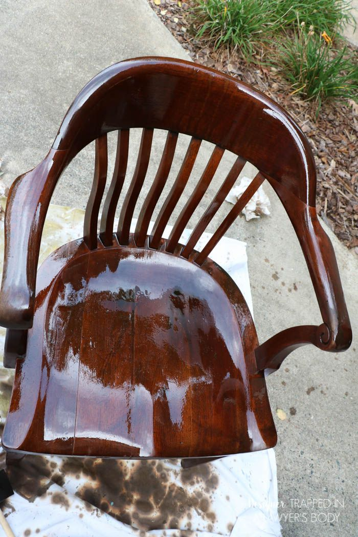 How To Refinish Wood Chairs The Easy Way How To Antique