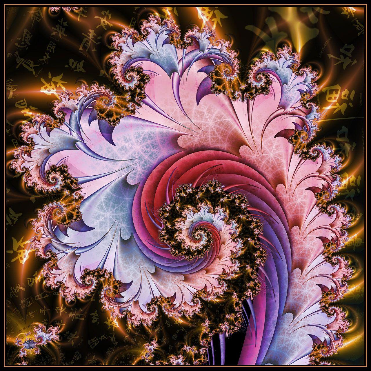 Ginseng Fractal Art