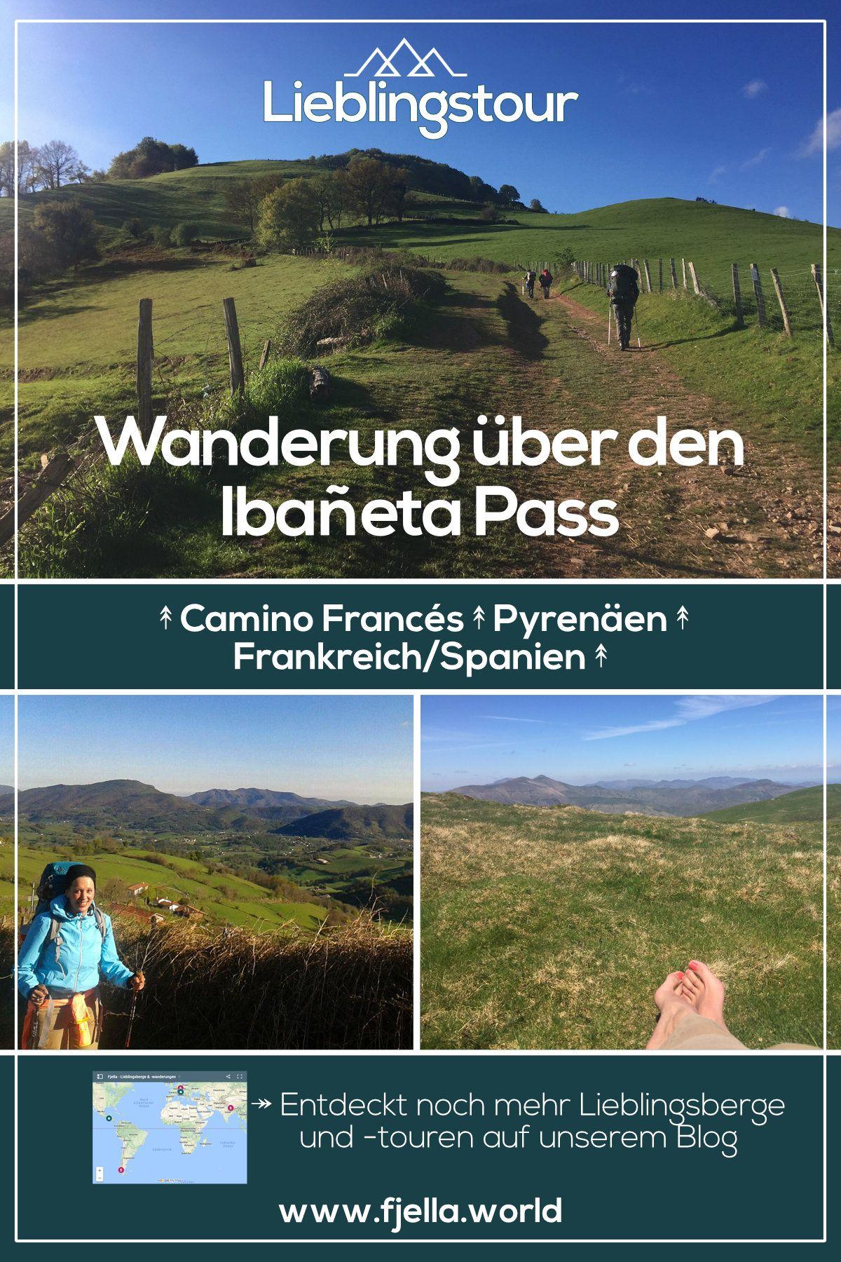 Wanderung Uber Den Ibaneta Pass Auf Dem Camino Frances Pyrenaen Wanderung Pyrenaen Jakobsweg Spanien