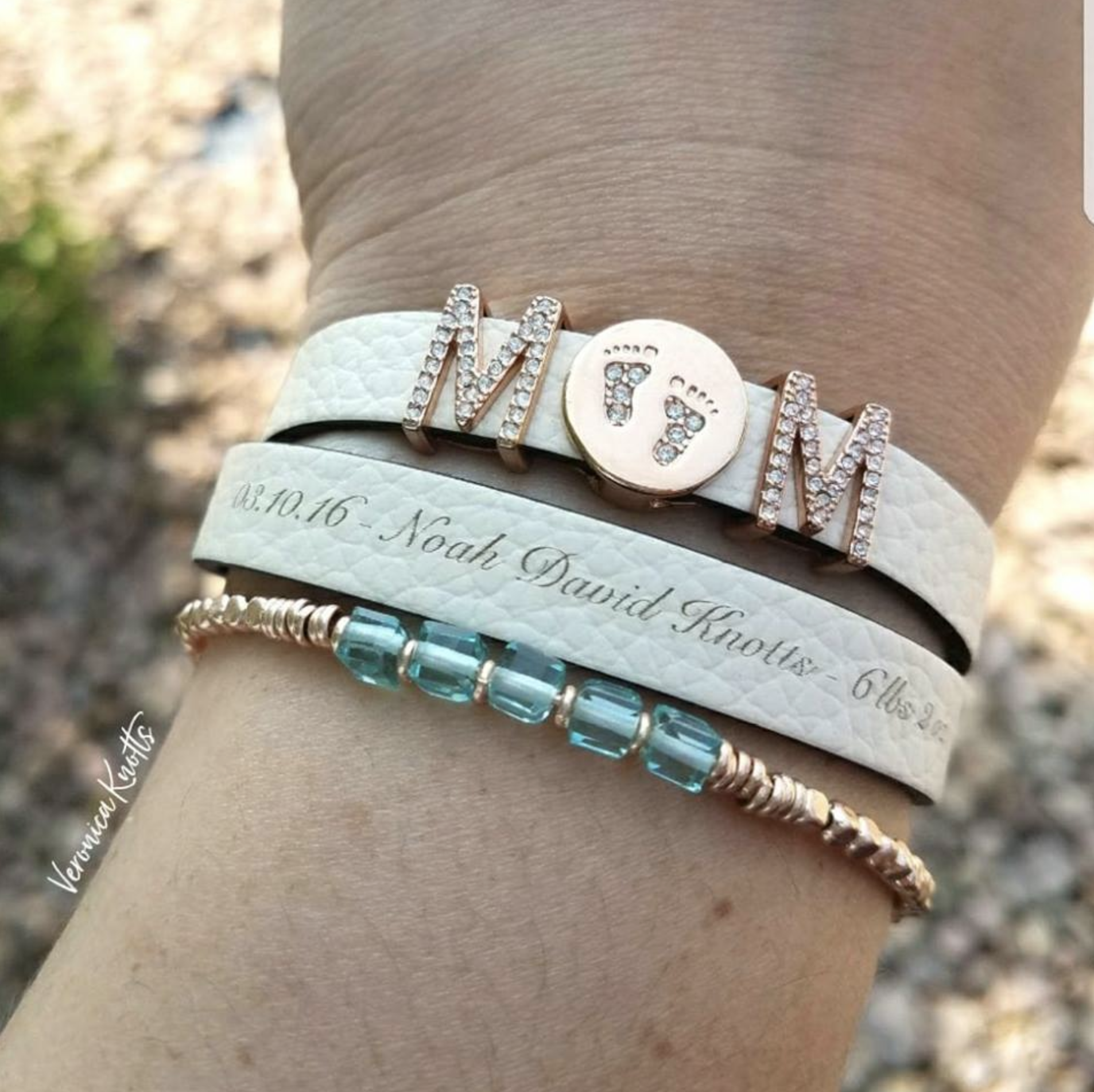 Keep Collective Mom Life New Mommy Bracelet Announcement Birthstones Rose Gold Engraved Double Band New Fall Ke Keep Bracelet Moms Bracelet Jewelry Inspiration