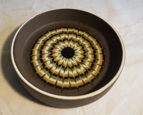 Small Hornsea Pottery Dish Muramic John Clappison by FattyandBaldy