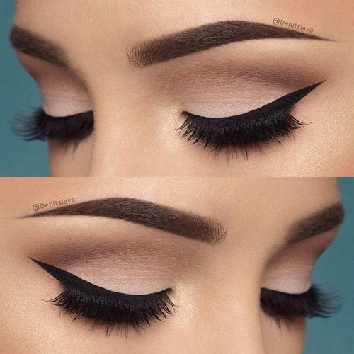 Maquillaje para vestido negro noche