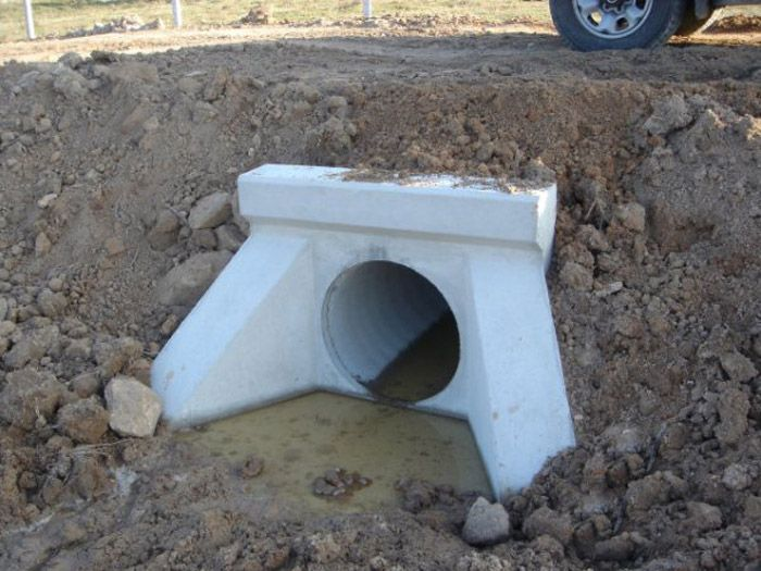 Culverts Precast Concrete Fins Prefabricados Alberdi Culvert Landscaping Retaining Walls Precast Concrete