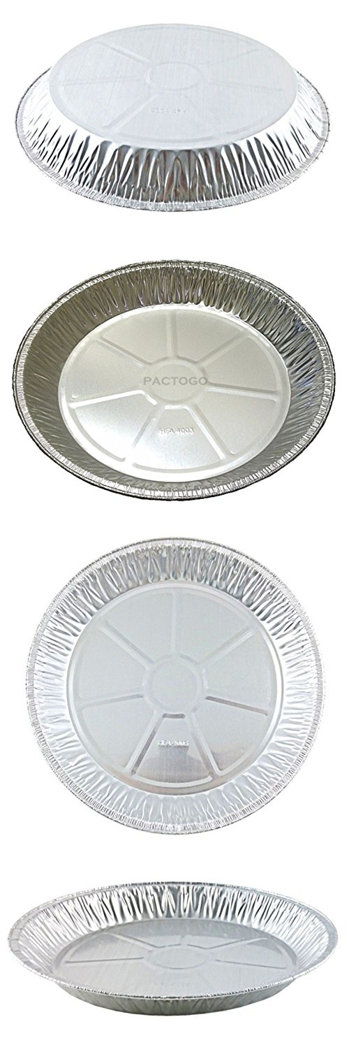Handi-Foil 12  Aluminum Foil Pie Pan Extra-Deep Disposable Tin Plates (  sc 1 st  Pinterest & Handi-Foil 12 | Cookware and Products