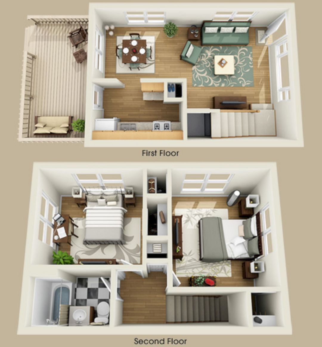 Why Do We Need 3d House Plan Before Starting The Project 3d House Plans Sims House Small House Plans