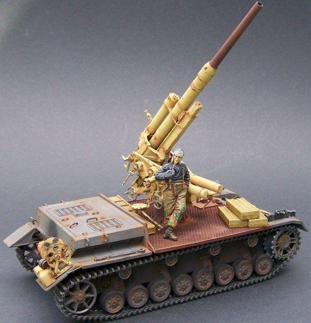 Panzer IV mit 8,8 Flak