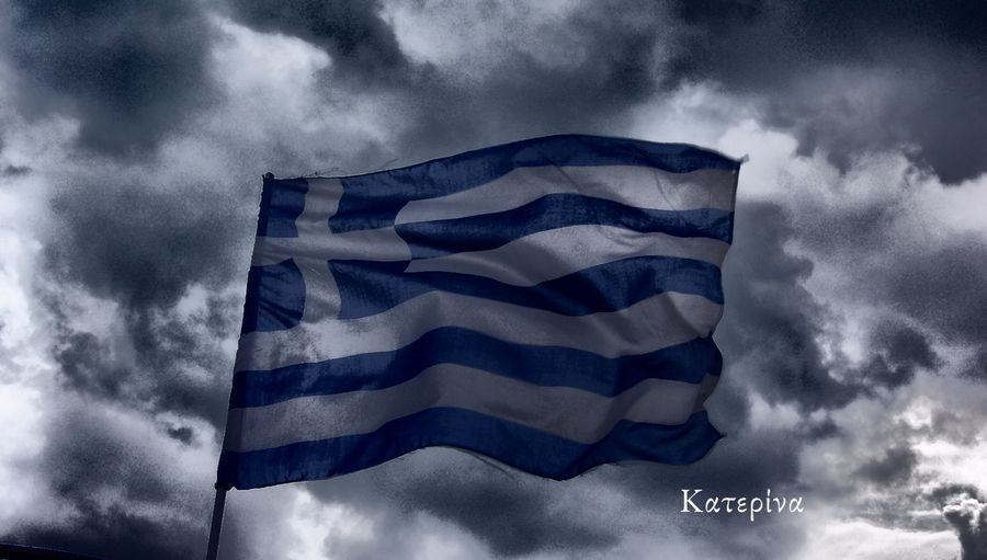 Greece...in the storm!