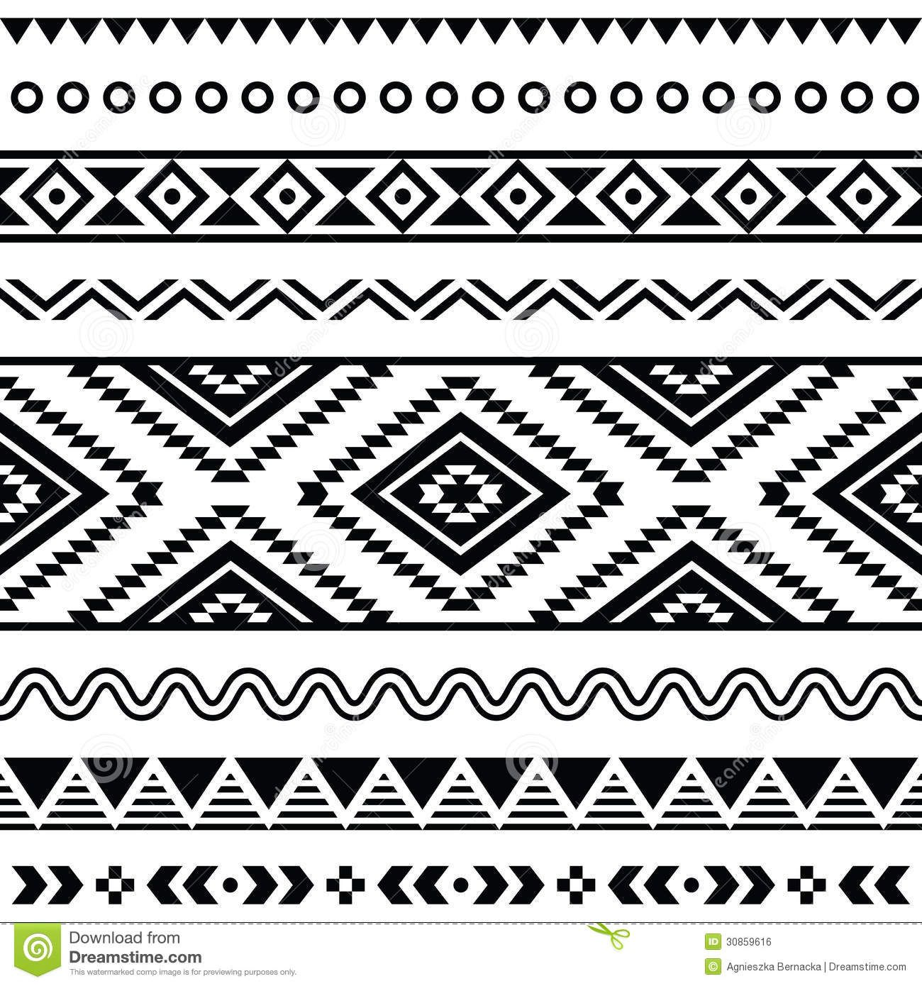 05b21fc8 free+southwest+clip+art+designs | More similar stock images of ` Tribal  seamless pattern, aztec black .