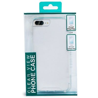 reputable site 1355c 2bee7 iphone 8 plus/7 plus/6s plus or 6 plus clear view phone case | Five ...