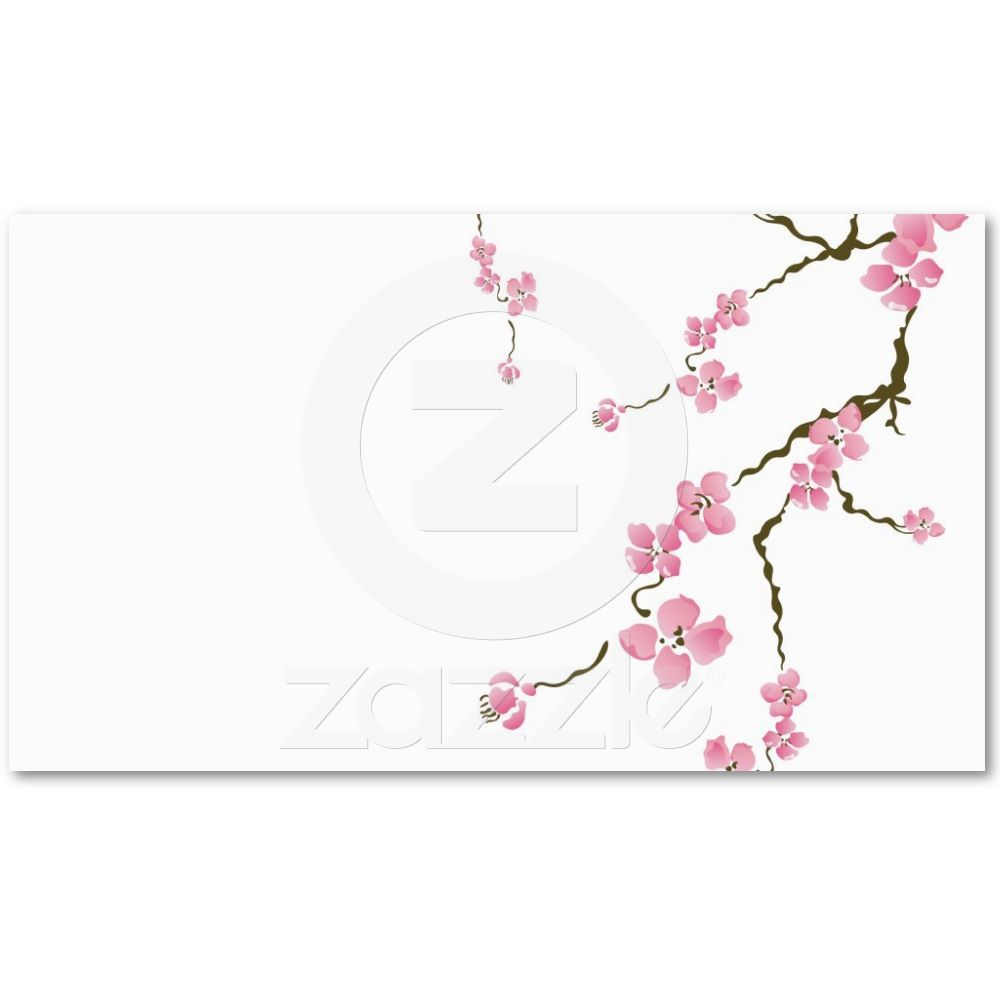 Cherry blossom Business Card | Pinterest | Business cards, Cherry ...