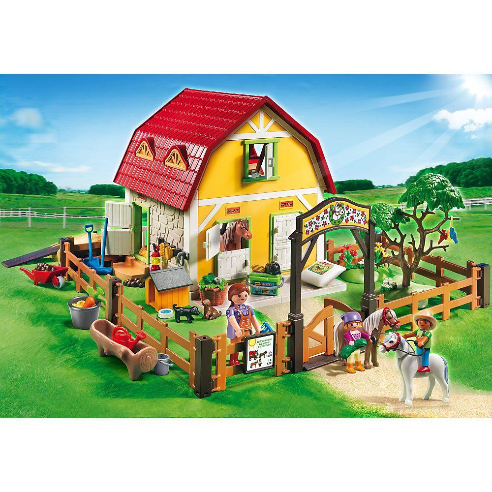 Playmobil Country Stadnina kucyków, 5222, klocki