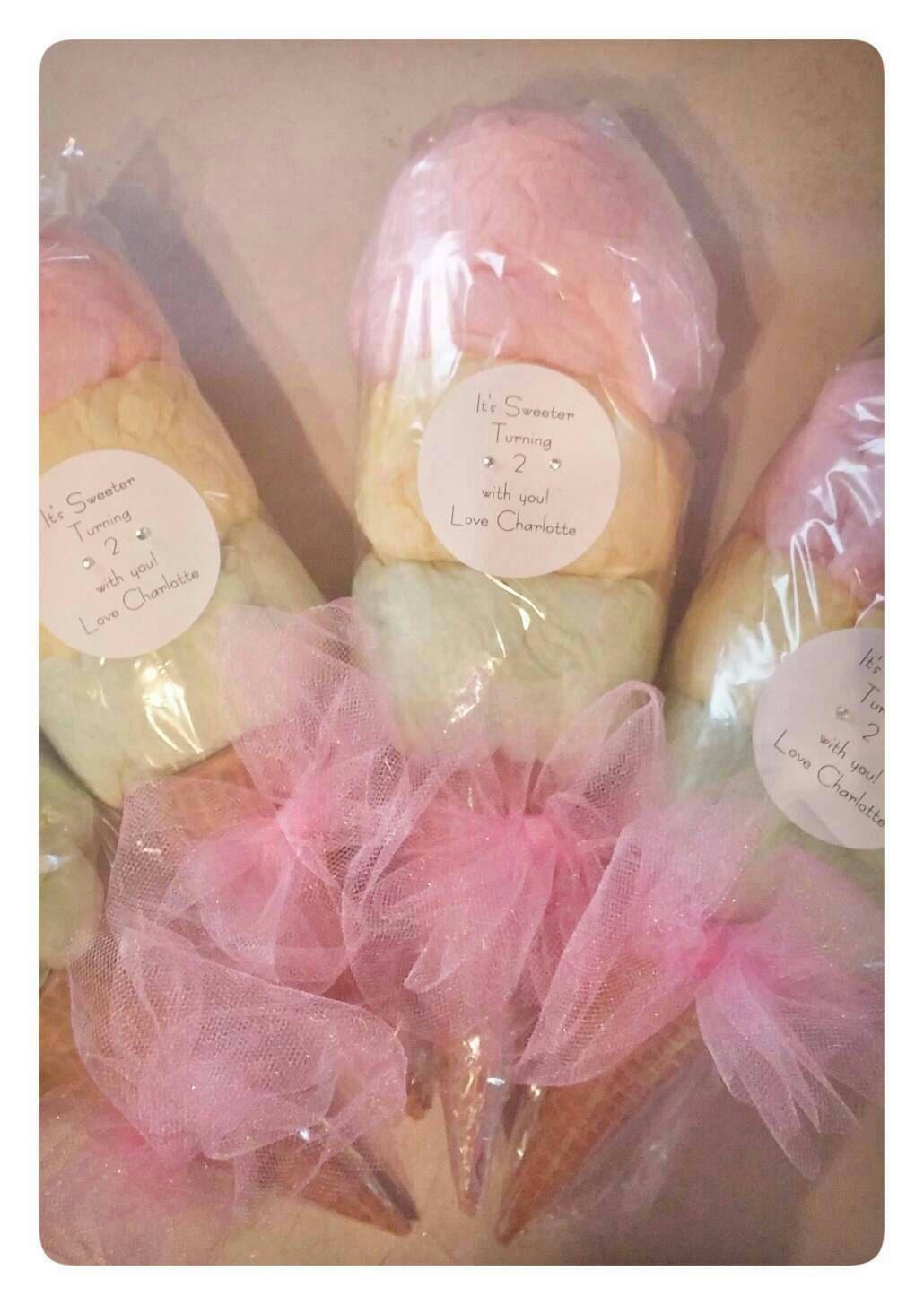 Triple Scoop Ice Cream Cones with Custom Label 12 | Ice, Cream and ...