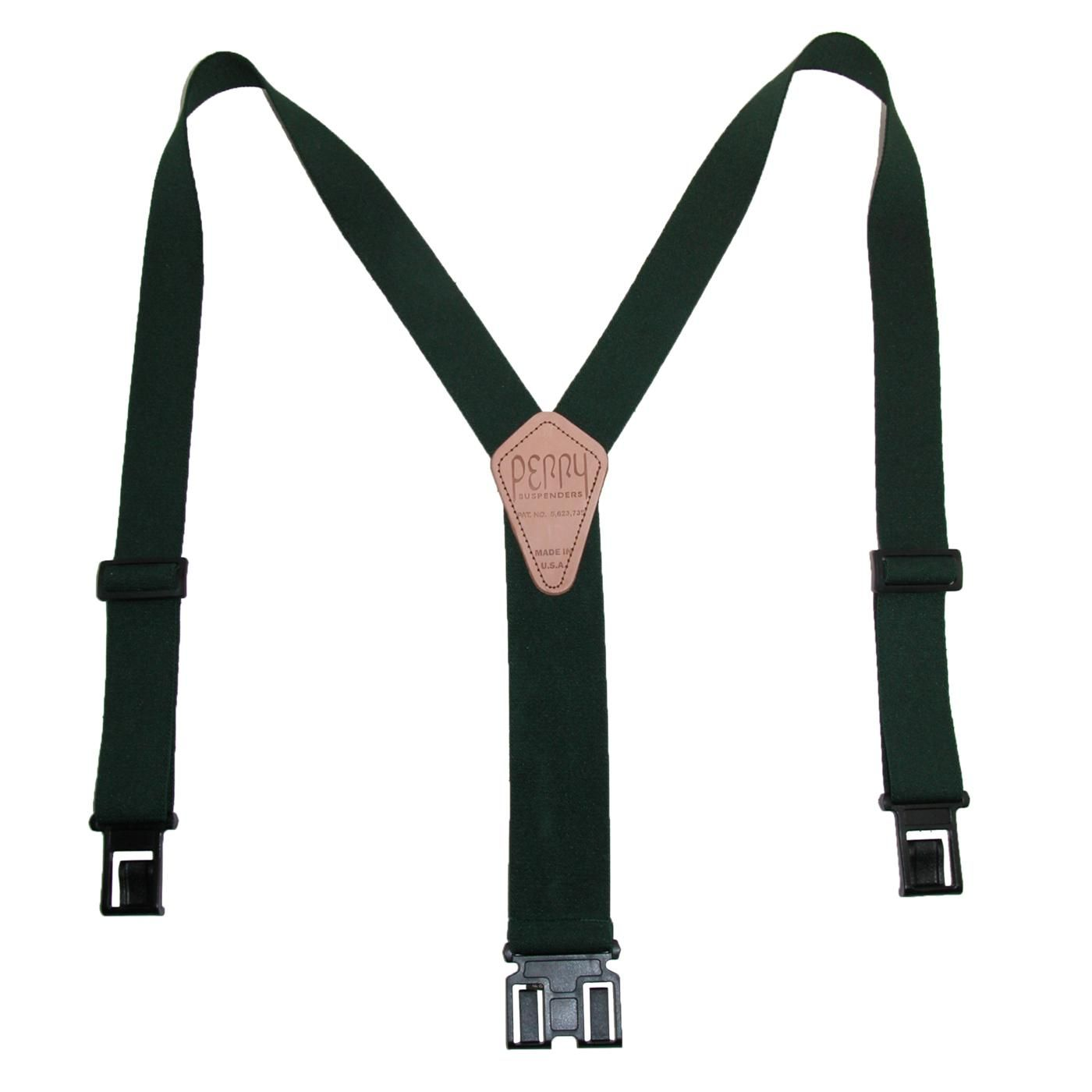 These are a great basic suspender. The 1.5 inch width gives more stability and strength and the belt clips attach easily and comfortably for a more secure fit.